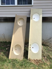 """Double bowl sinks. 93"""" long & 83"""" long . $65.00 each  Mount Airy, 21771"""