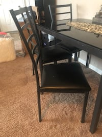 ALL BLACK DINING ROOM SET Suitland-Silver Hill