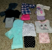 Baby girl:  12 months winter lot  Strasburg, 22657