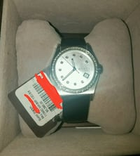 Gucci Diamond Watch with aligator straps. New York, 10014