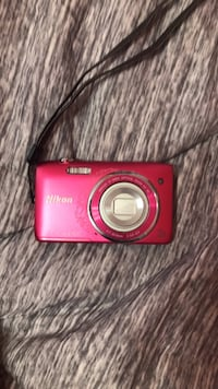 red Nikon Coolpix point-and-shoot camera Los Angeles, 90022
