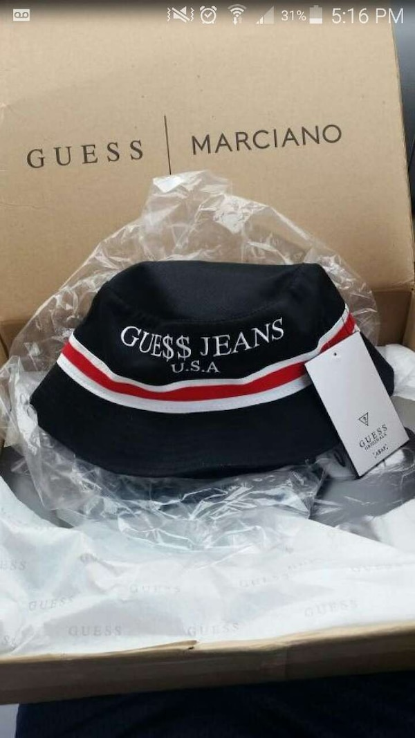 Used guess× asap rocky bucket hat for sale in Burbank - letgo 0c121e03dfb