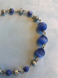 Afghan Made Blue Marble Anklet Jewelry Coquitlam, V3C 4X2