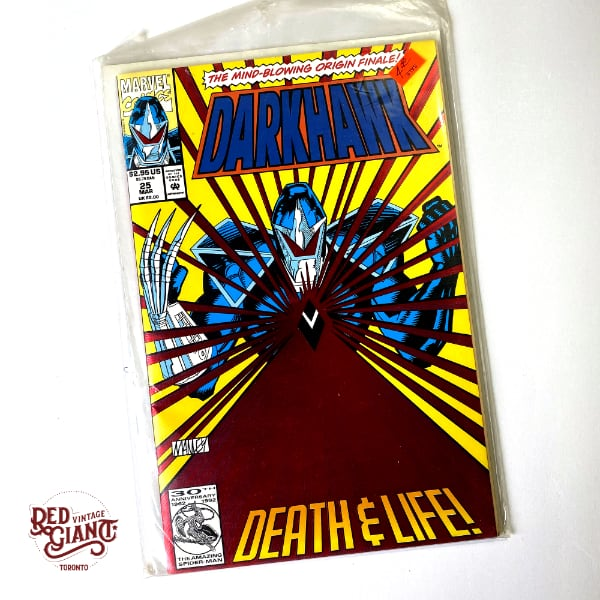 Darkhawk #25 1993 Marvel Comic Book