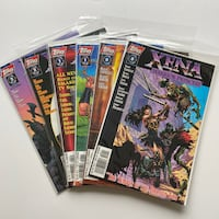 6x 1997 Xena Warrior Princess Comics Toronto