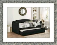 Daybed black with mattress and free delivery Alexandria, 22305