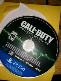 Ps4 Call of Duty Modern Walfare Remasted $25