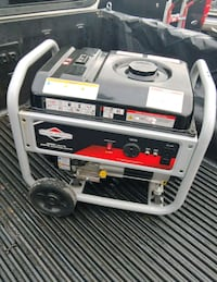 white and black portable generator Bloomington, 92316