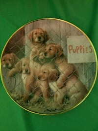"""ADOPT A PUPPY"" COLLECTIBLE PLATE Beaumont, 92223"