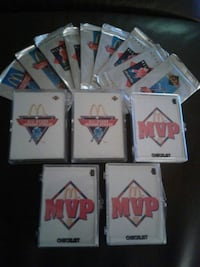 Five complete sets of hockey cards Edmonton, T5T 0R1