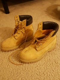 Timberland steal toe boots size W7 Frederick, 21703