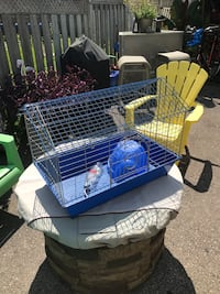 Guinea Pig cage. Bonus comes with upgraded water bottle AND a little house AND 1/2 bag of food!!  Whitby, L1R 2R8