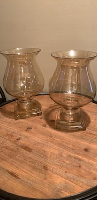 Hurricane candle holders-2 (Champagne color) Morganville, 07751