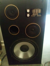 black and gray subwoofer speaker Abbotsford, V4X 1W2