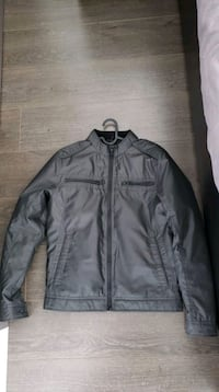 Guess Mens Racer Jacket, Black,Size Medium Vancouver