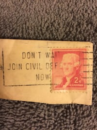 2 Cent Stamps- 5 Baltimore, 21214