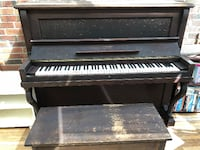 Nordheimer Piano with bench - restoration project TORONTO