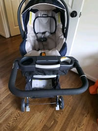 baby's black and gray car seat carrier Temple Hills, 20748