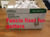 Box of 55 Fascia fixers for gutters King William