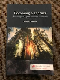 Becoming a Learner Realizing the Opportunity of Education by Sanders