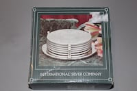 New silver plates coasters with stand Huber Heights, 45371