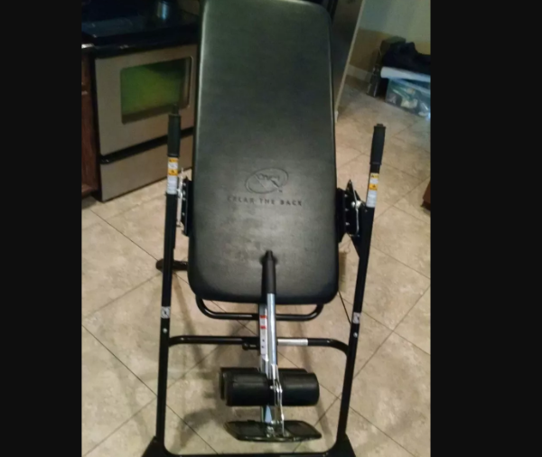 Relax the Back Mastercare Back-A-Traction Inversion Table  Channelview