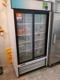 Commercial display cooler