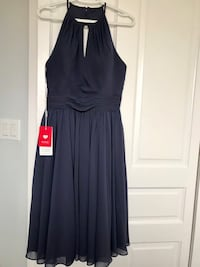 Quality Formal Dress New With Tags - Fits Sizes 10-12.