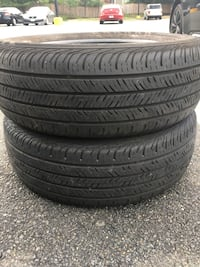 2 tires 205/65r16 $40 for both