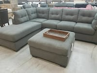 Maier Sectional only (Ottoman Optional $299)