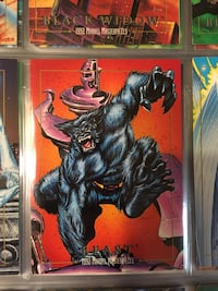 Beast marvel trading card Cashmere, 98815