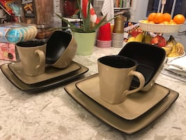Home Trend dinnerware set for 8