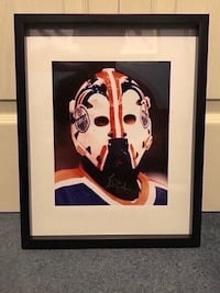 Grant Fuhr Signed And photo  Châteauguay, J6K