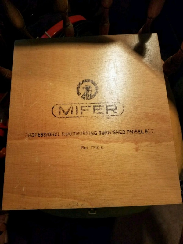 Used Mifer Professional Woodworking Chisels For Sale In Evesham