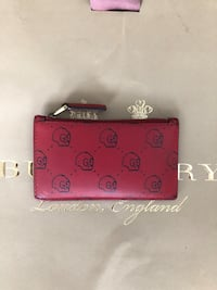 Gucci Ghost Wallet red