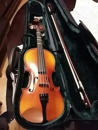 brown Jazz violin with bow with case Vancouver, V5P 4V8