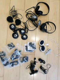 Headphones,  various - can sell all or individuall Los Angeles, 90036