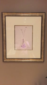 white wooden framed painting of woman Mississauga, L5W 1P9