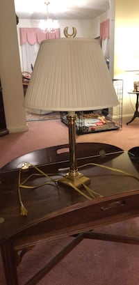 Gold colored lamp Towson, 21286