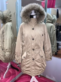 Promiss Parka with Fur Hood (Size 44)