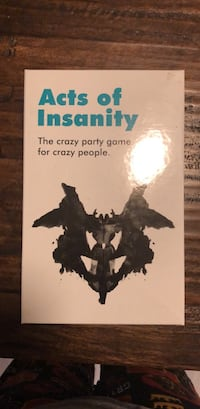 Acts of insanity game  Raleigh, 27613