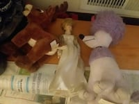 Stuffed animals & Princess Diana dolls  Zanesville, 43701