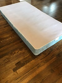 Twin box spring and frame