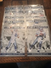 "1996 Upper Deck Troy Aikman-""Aikman Chronicles 10 Card set. Bay Shore, 11706"