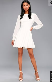 White short dress Surrey, V3R 2E7