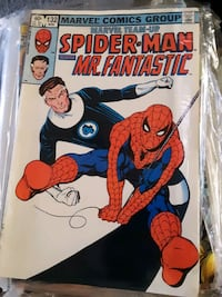 "Spiderman ""Marvel Team Up"" comics Stockton"
