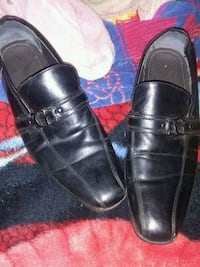pair of black leather dress shoes Pharr, 78577