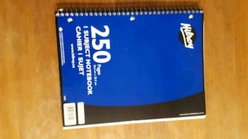 Hilroy 250 pages notebook