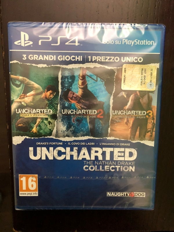UNCHARTED collettion per ps4