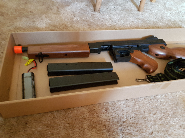brown and black airsoft gun CHILLIWACK